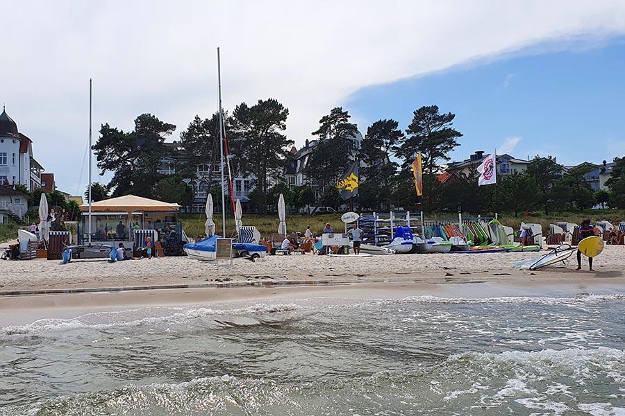Segelschule und Surfschule Binz