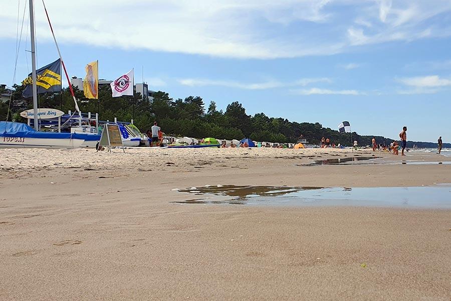 Wassersport Binz direkt am Strand